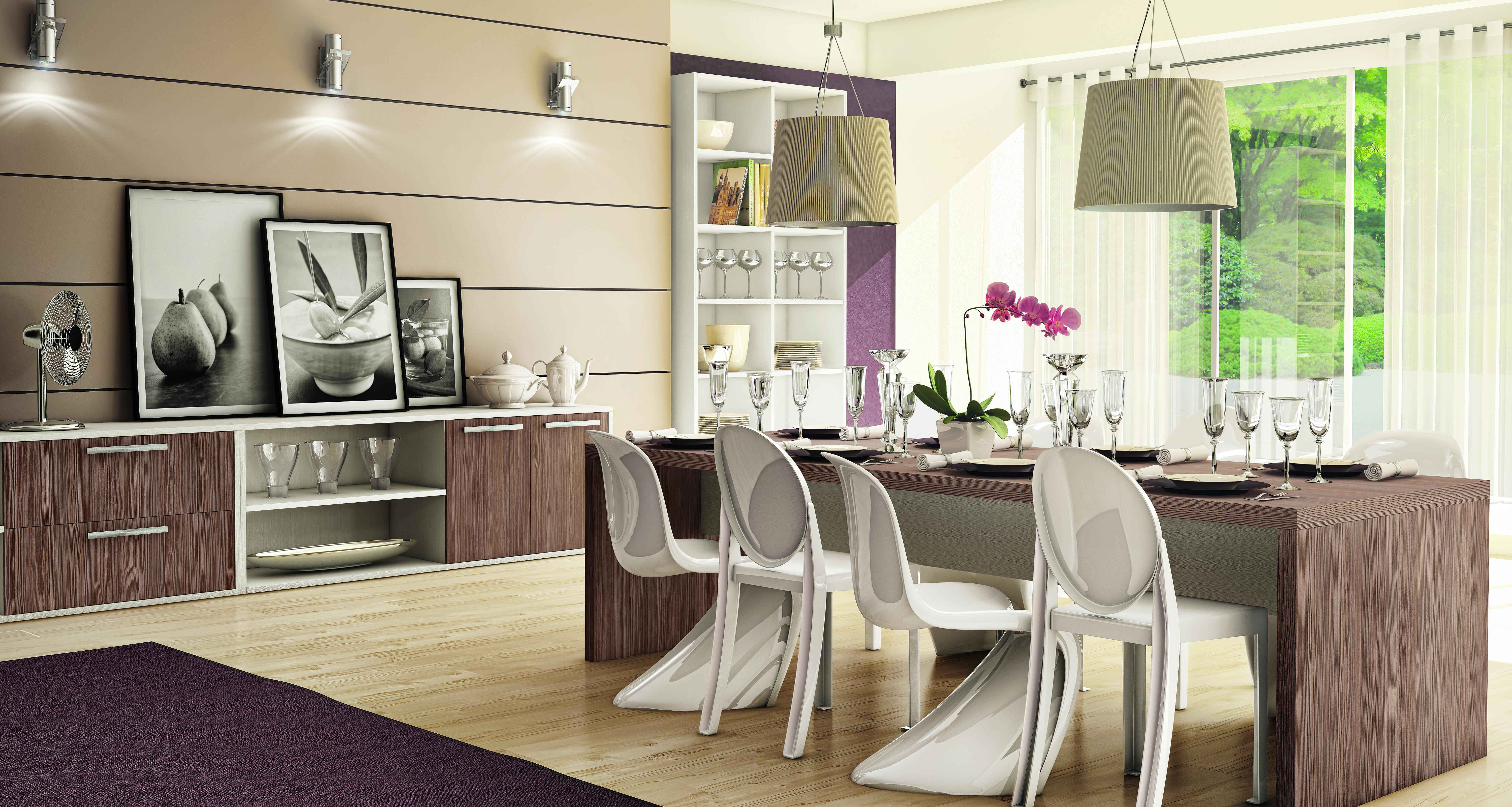 Tv Lar Sala De Jantar ~ Móveis planejados para salas de jantar
